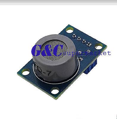 MQ-7 MQ7 Carbon Monoxide CO Gas Sensor Module Arduino UNO Mega2560 A123 M27
