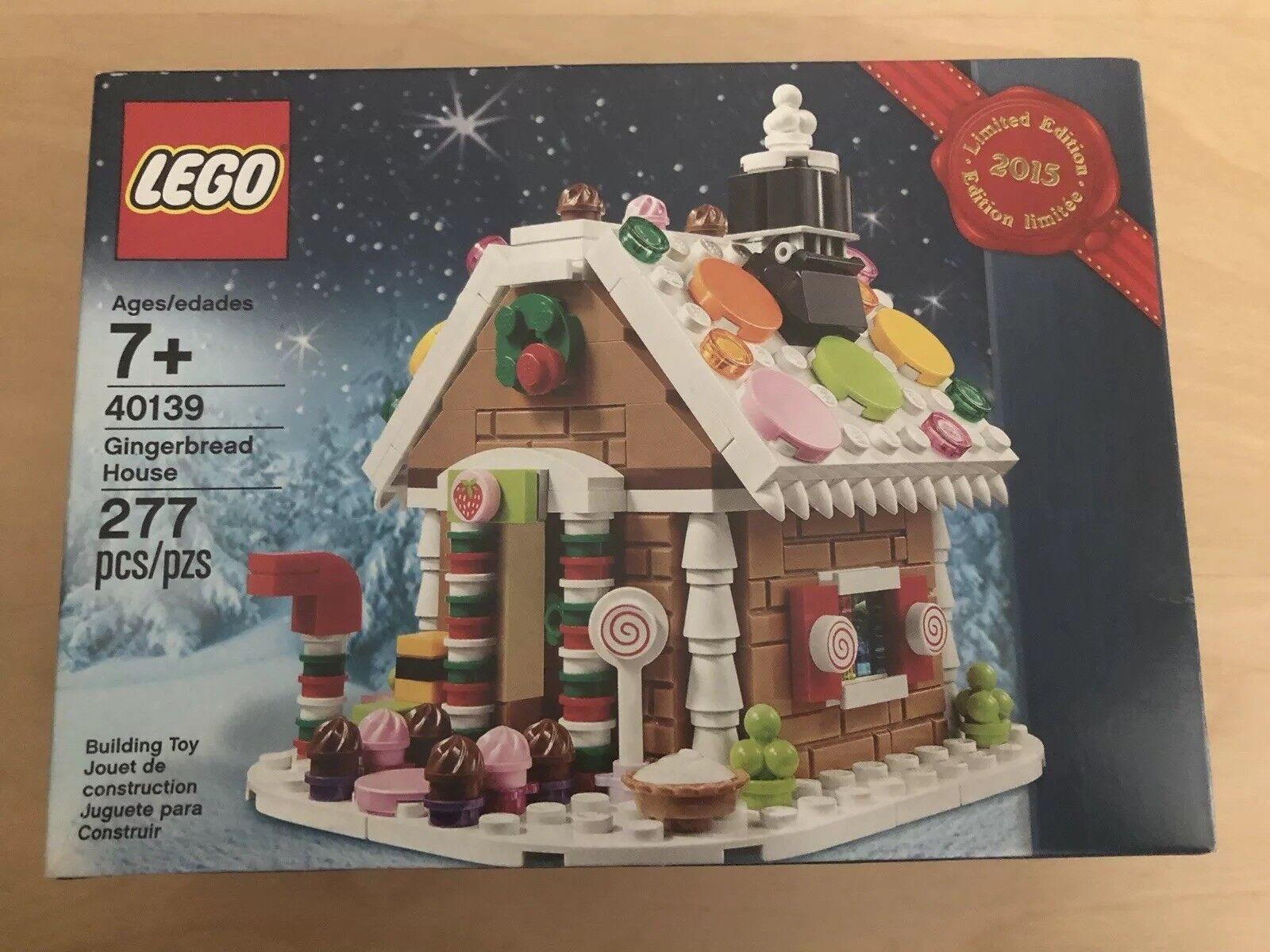 LEGO 40139 Limited Edition 2015 Christmas Gingerbread House Set SEALED Seasonal