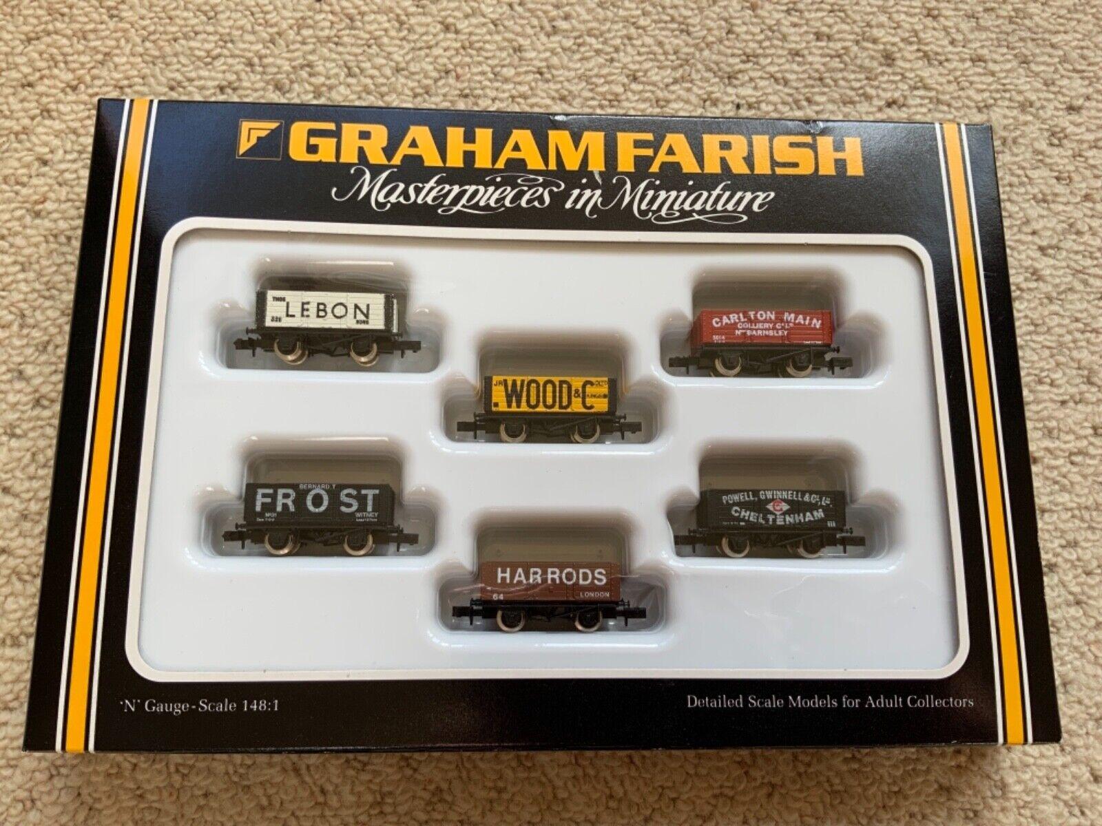 Graham Farish FA 73111 set of 6 Coal Wagons