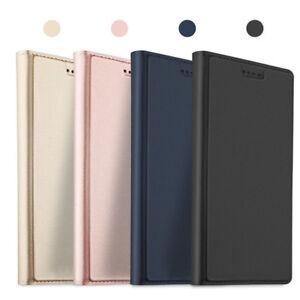 Pour-Huawei-Nova-3i-3-3E-Cuir-de-Luxe-Magnetique-Clapet-Pied-Etui-Portefeuilles