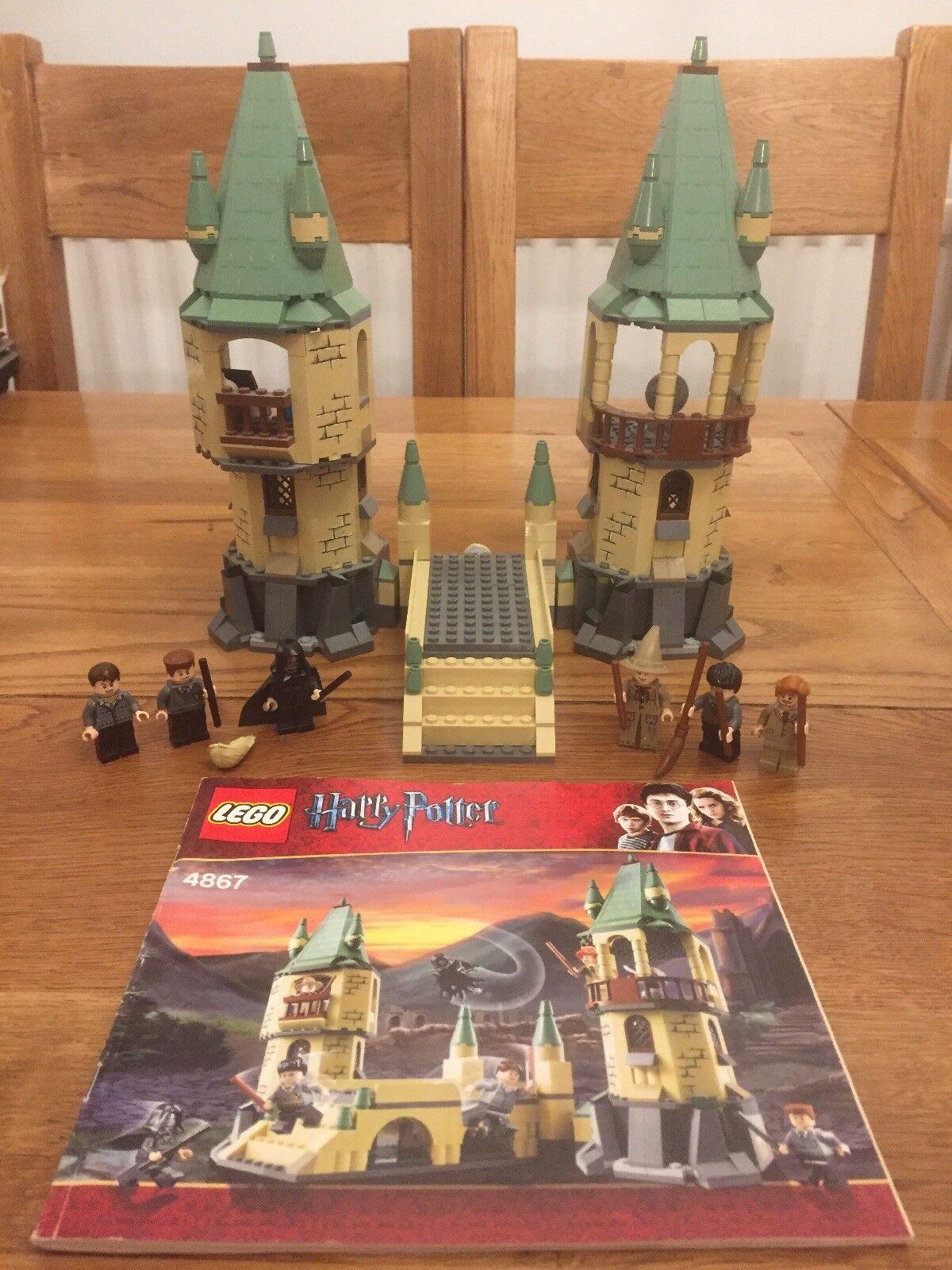 Lego Harry Potter 4867 Poudlard Extension set (2011) Coffret instructions