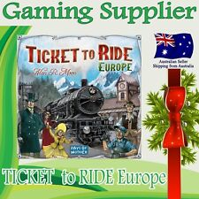 TICKET TO RIDE Europe Edition Family Board Game Great Gift Idea ...