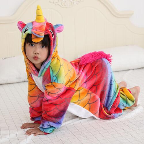 Kid  Pikachu Charmander Animal Cosplay Costume Pajamas Sleepwear