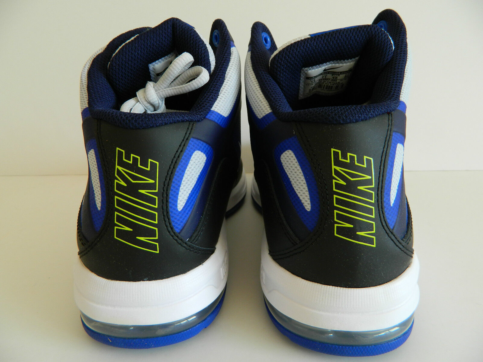 Nike air air air max actualizer (schwarz / weißen pr - pltnm blcknd bl) (554987 005) nib 3d9b18