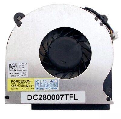 Original DELL CPU Fan  04H1RR  DC280007TFL  Dell Latitude E6400 E6410 E6510