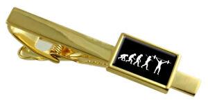 Évolution Ape To Man Poids Levage Ton Doré Pince à Cravate Message Gravé Boîte FNpdHBa9-09165258-188846866