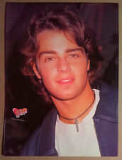 Magazine Pinup~ JOEY LAWRENCE ~1990s ~of TV's Blossom ~~Back- MARIAH CAREY