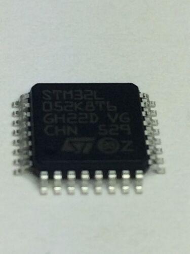 5pcs of  STM32L052K8T6  ST Micro IC MCU RISC 8BIT 64KB Flash 32-Pin LQFP