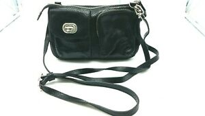 Brighton-Crossbody-small-purse-bag-Black-Snakeskin-Embossed-Leather-1109