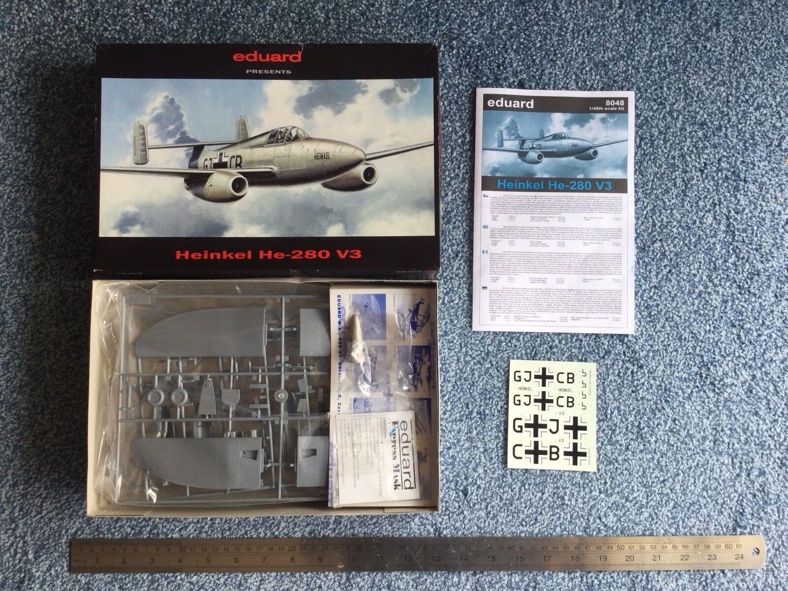 Eduard 1 48 Heinkel He-280 V3 model kit