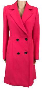 Marks Frakke Fashion 8 Ny Smart Spencer Up Ladies s Jacket Uk Button Pink M 22 wqAHxpIEH7