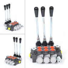 3 Spool Hydraulic Solenoid Directional Control Valve Pressure 3600 Psi 40lmin