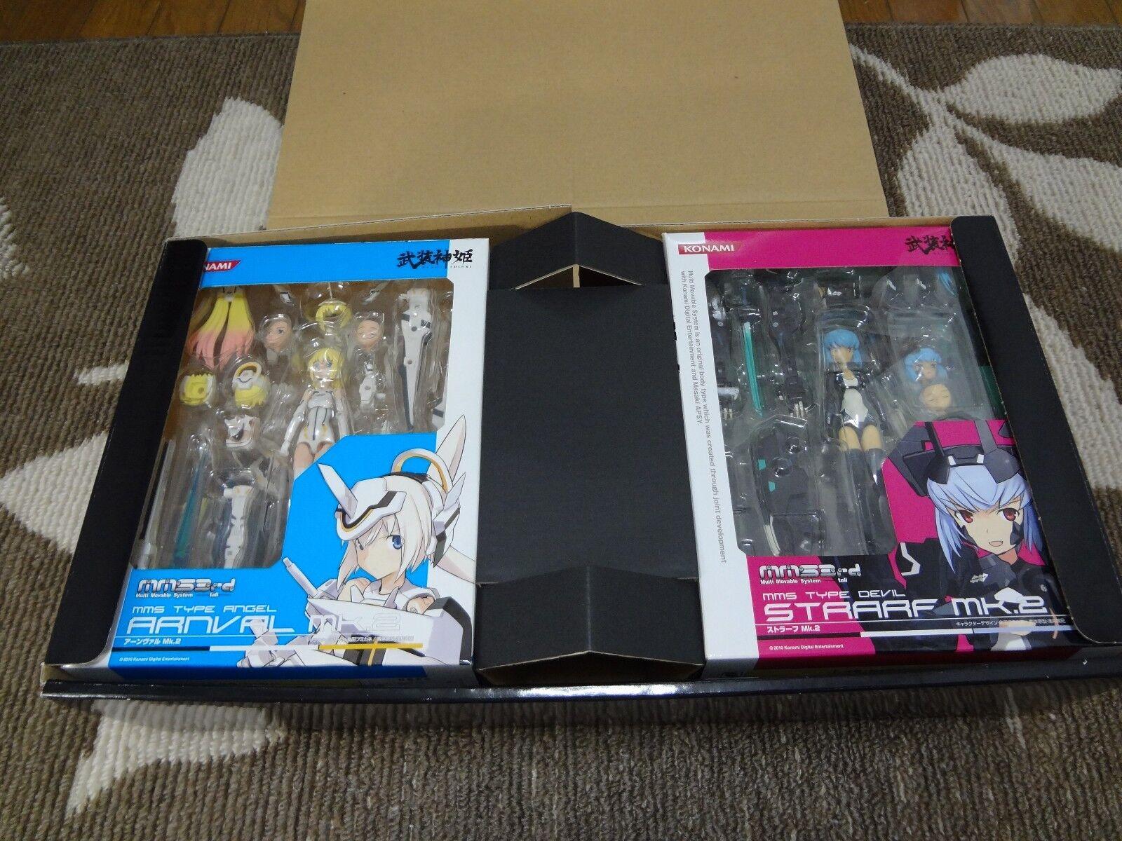PSP Konami busou shinki BATTLE MASTERS Figure Special Edition