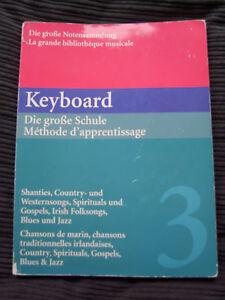 Keyboard-Die-Grosse-Schule-Band-3-Shanties-Country-und-Westernsongs-Gospels