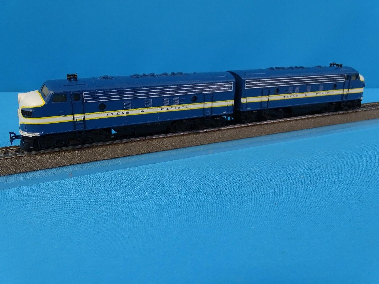 Marklin 3481 US F7 Diesellocomotive Double Traction TEXAS & PACIFIC Blue