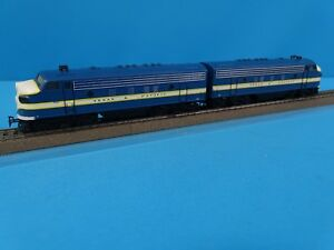 Marklin 3481 US F7 Diesellocomotive Double Traction TEXAS & PACIFIC Blue