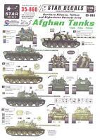 Star Decals 1/35 Afghan Tanks Northern Alliance, Taliban, & Afghanistan Army