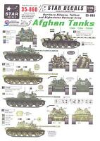 Star Decals 1/35 Afghan Tanks Northern Alliance, Taliban, & Afghanistan Army