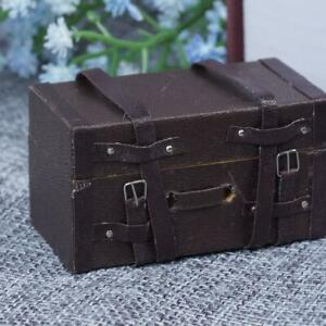 Cute-1-12-Doll-House-Mini-Luggage-Box-Miniature-Leather-Wood-Suitcase-Gifts-E0M8