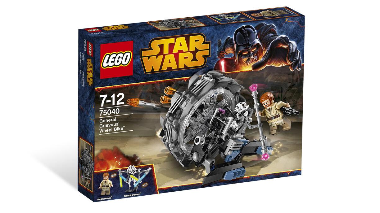 Boite LEGO neuve non ouGrüne 75040 grievous obiwan kenobi wheel bike star wars