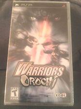 WARRIORS OROCHI *NEW* Sony PSP Game