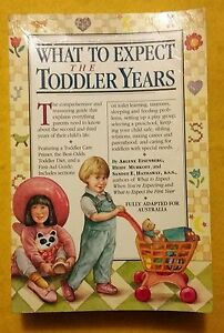 What-to-Expect-in-the-Toddler-Years-Australian-Edition-used-paperback-1994