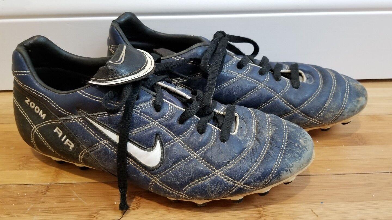 Nike Air Zoom Brasilia Men's Dark Blue Soccer  Shoe Comfortable Cheap women's shoes women's shoes