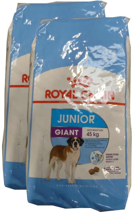 2x15kg = 30 KG ROYAL CANIN GIANT JUNIOR *** Prezzo TOP ***