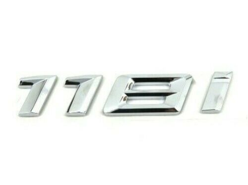F20 F21 F40 Hatchback Genuine New BMW 118i BOOT BADGE Rear Trunk Emblem 2015