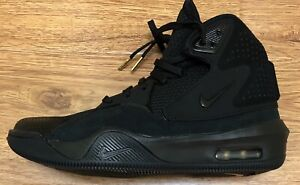 uk availability 5963d f54ba New Rare Nike Dangeruss Wilson 1 Trainer Triple Black Shoes Men's ...