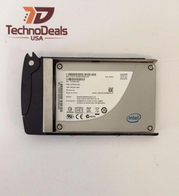 """INTEL X25-M 80GB SOLID STATE DRIVE SSDSA2M080G2GN 2.5"""" MLC 7.0MM 34NM"""