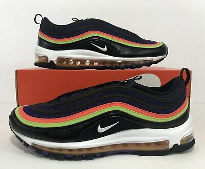 Nike Air Max 97 White Pink Green Gold Yellow CW5591 100