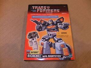 Transformers-G1-TRU-Commemorative-Series-IX-Autobot-Ricochet-with-Nightstick-new