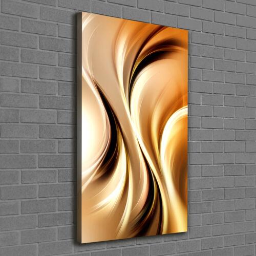 Leinwandbild Kunst-Druck 120x60 Bilder Kunst Abstrakte Wellen