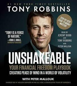 Unshakeable: How to Thrive (Not Just Survive) by Tony Robbins - MP3 Audiobook