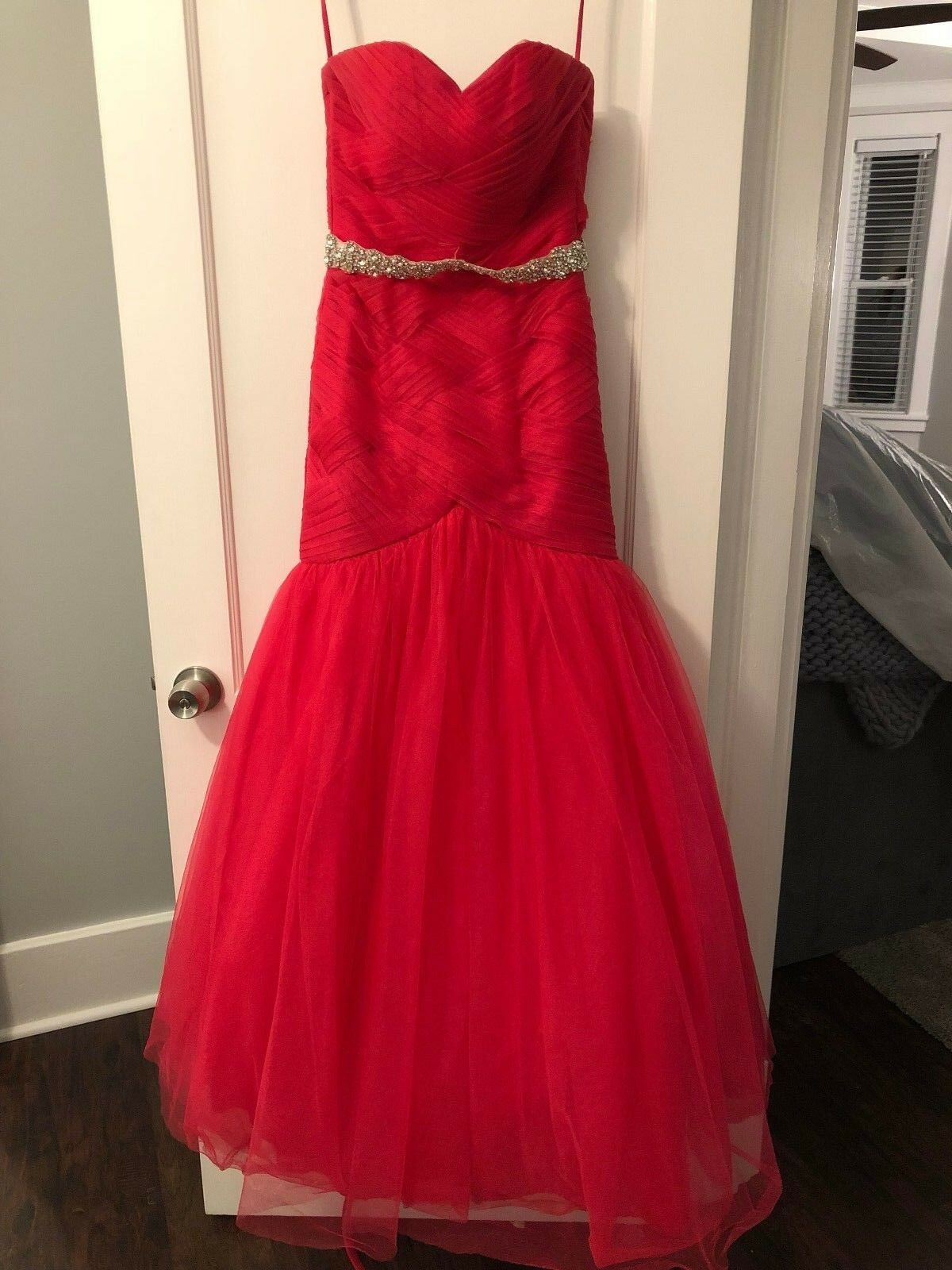 Maggie Sottero Pink Prom Dress - Size 0