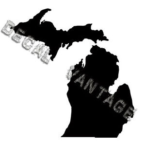 Michigan-Vinyl-Sticker-Decal-State-MI-Choose-Size-amp-Color