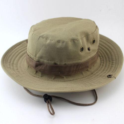 Men//Women Bucket Hat Bush Boonie Fishing Caps Summer Travel Outdoor Beach Hats