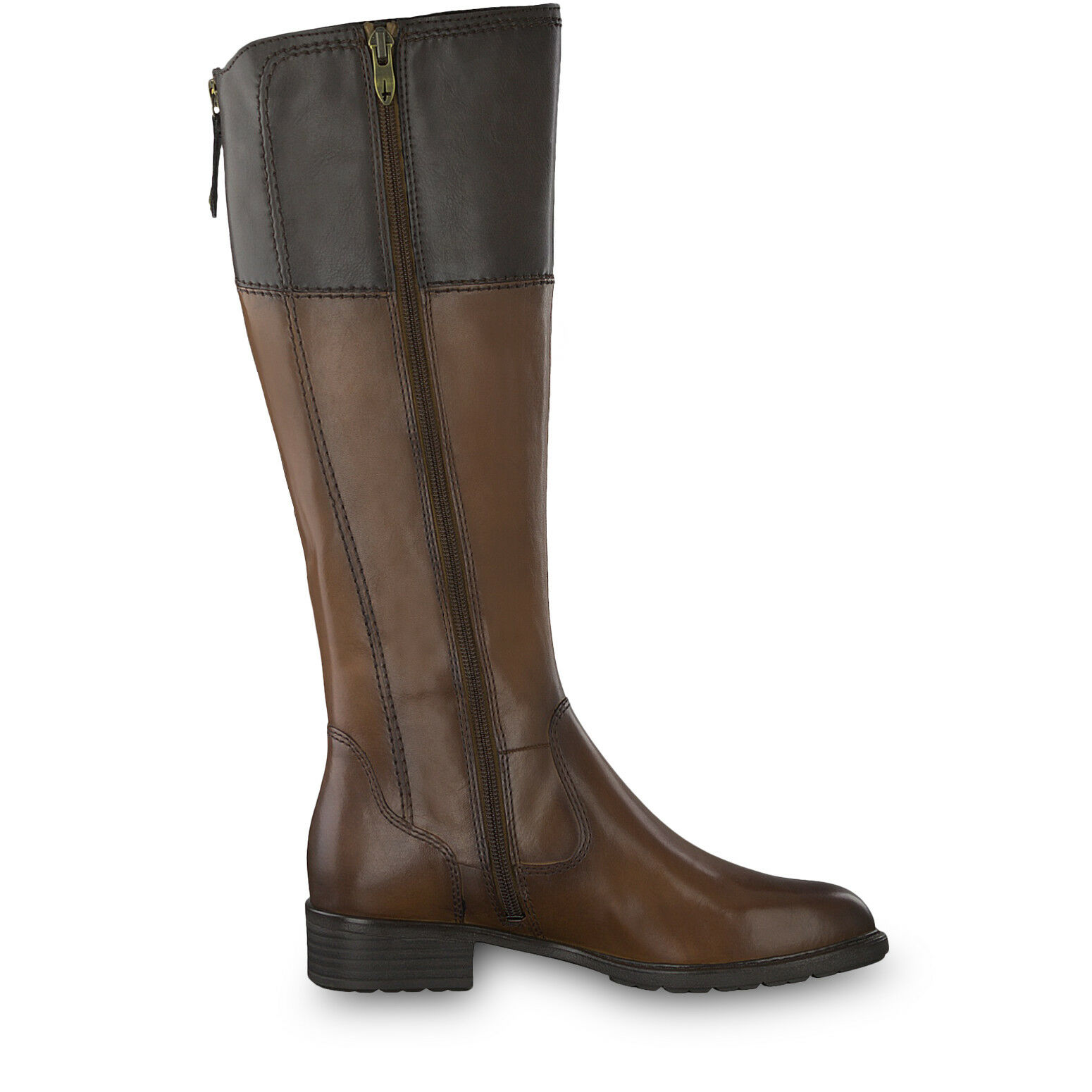 Tamaris damen 25508-21 25508-21 25508-21 Cognac Mocca Leather Synthetic Knee Length Winter Stiefel    2e3057