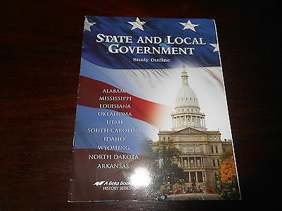 STATE AND LOCAL GOVERNMENT  Abeka History  homeschooling