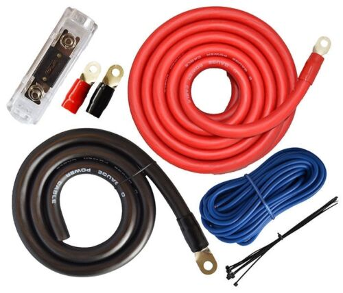single car audio amplifier kits 1 0 awg gauge ebay rh ebay com