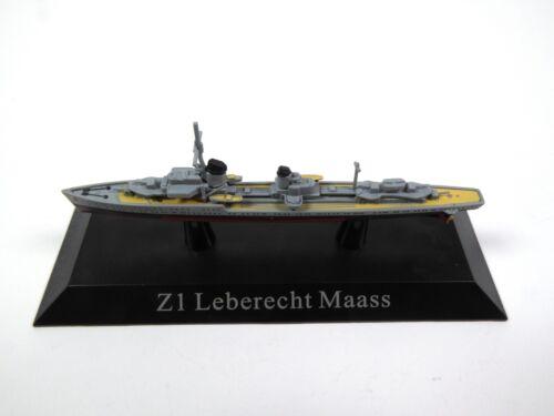 1250 Schlachtschiff IXO Militär Zerstörer WS26 Z1 Leberecht Maass 1935-1