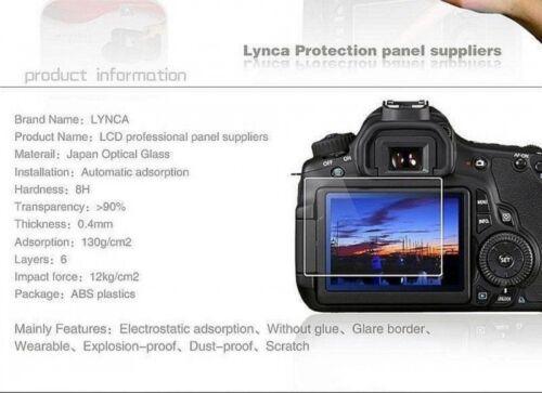 Cámara de vidrio LYNCA protector de pantalla para CANON G1X2 vendedor del Reino Unido