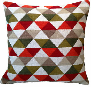 Moroccan-Style-Hand-Woven-Cushion-Covers-24-60-cm-Large-Floor-Sofa-Cream-Red