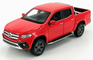 WELLY 1/24 MERCEDES BENZ   X-CLASS PICK-UP 2018   RED