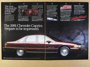Details about 1991 Chevrolet Caprice Classic Sedan photo vintage print Ad