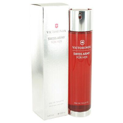 SWISS ARMY por Victorinox 3.4 OZ 100 ml Eau de Toilette Spray Perfume Para Mujer Nuevo En Caja | eBay