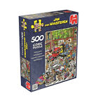 Jan Van Haasteren - 500-piece Scooter Scramble Jigsaw Puzzle
