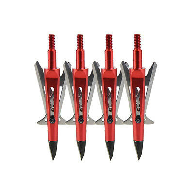 Archery Hunting Tips Blade Arrowheads Broadheads Shape Bow Crossbow Shooting