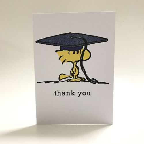 Graphique Peanuts Gang Woodstock Graduation Thank You Notecards Blank16 Cards